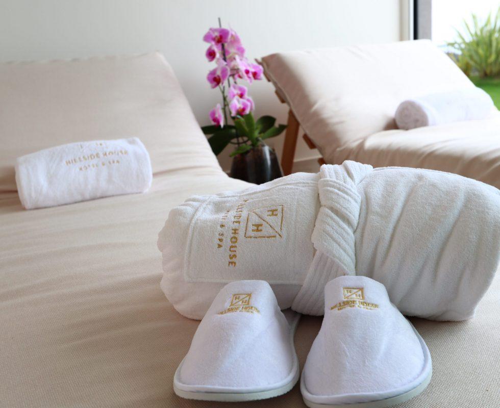 Spa Details - Hillside House - Suites & Spa