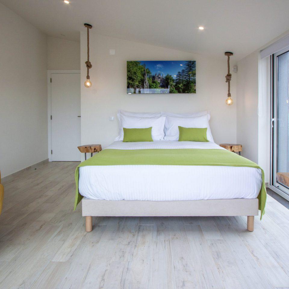 Terrace residence bedroom